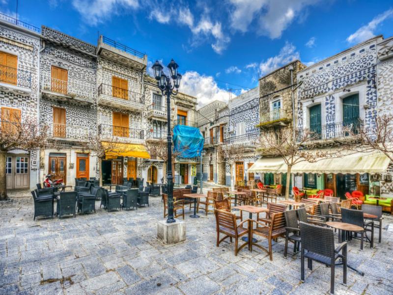 Πυργί: Αυτό το ελληνικό χωριό μοιάζει με περίτεχνο κέντημα