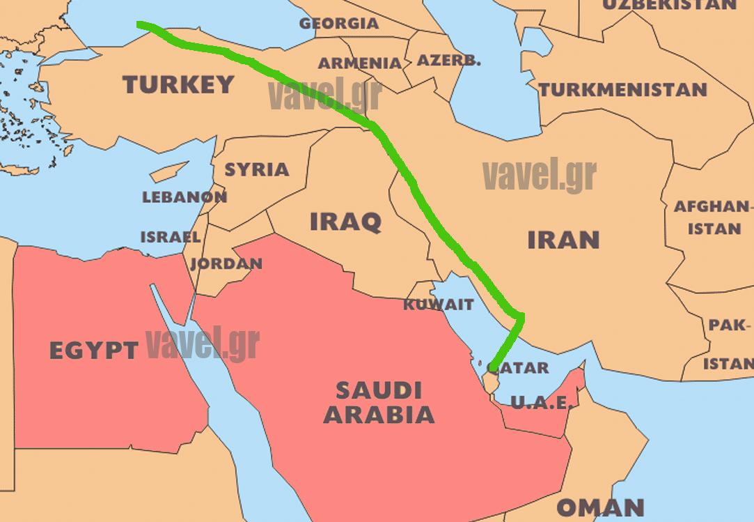 Vavel.gr | Αυτή τη διαδρομή ακολουθεί πλέον για Ευρώπη η Qatar Airways (χάρτης)