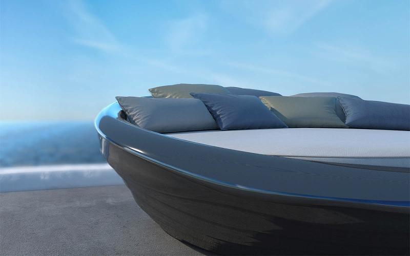 Ο πρώτος καναπές που επιπλέει (και δεν είναι φουσκωτός) είναι ελληνικός -Το δίδυμο Ελλήνων σχεδιαστών που πρωτοτυπεί