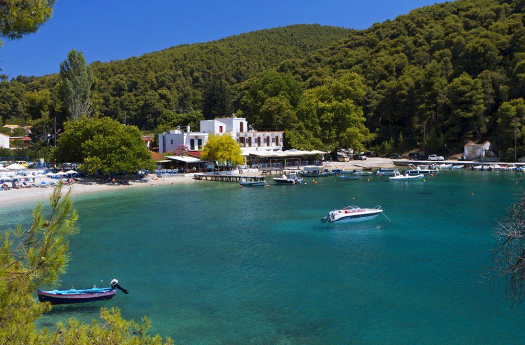 Στo πιο πράσινο νησί του Αιγαίου έχει πάντα δροσιά