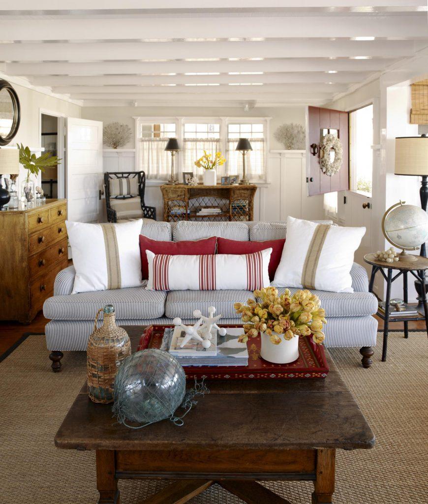 Κάνε το σαλόνι σου να δείχνει πιο μεγάλο με το ελάχιστο δυνατό κόστος