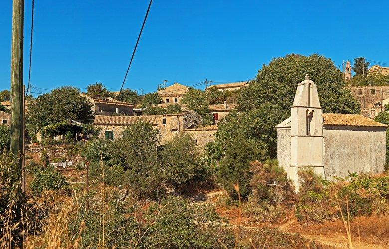 Το μαγευτικό «χωριό φάντασμα» της Κέρκυρας!