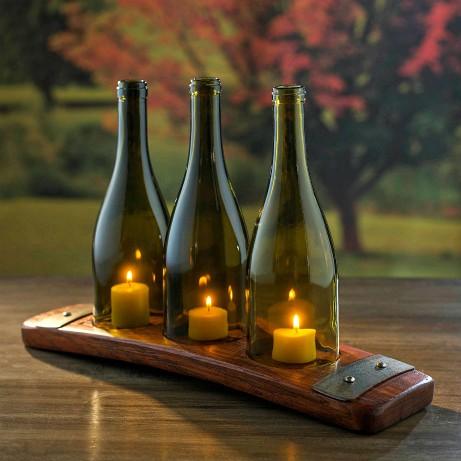 Άδεια μπουκάλια κρασιού: Χρήσεις που δεν είχατε σκεφτεί μέχρι σήμερα