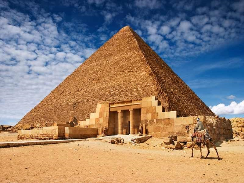Vavel.gr | Το μυστήριο λύθηκε: Ετσι κατασκεύασαν οι Αιγύπτιοι τις πυραμίδες της Γκίζας
