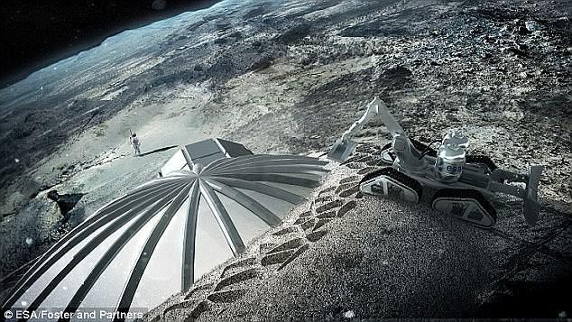 Eπιστήμονες: Στη Σελήνη θα μπορούν να μένουν 1000 άνθρωποι ως το 2050